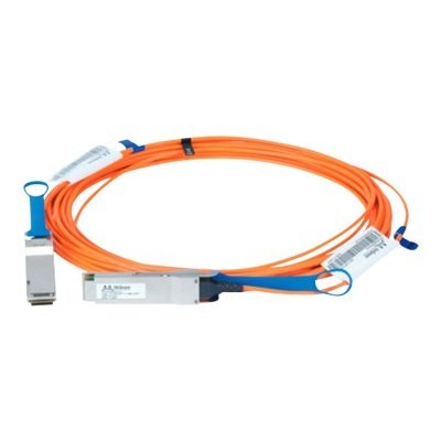 Mellanox Technologies MFA1A00-C005 LinkX 100Gb/s VCSEL-Based Active Optical Cables - InfiniBand cable - QSFP to QSFP - 16.4 ft - fiber optic - SFF-8665/IEEE 802
