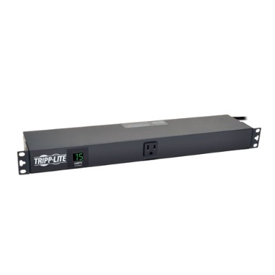 TrippLite PDUMH15-RA PDU Metered Horizontal 1.4kW 120V 15A (13 5-15R) 5-15P 15ft Cord 1URM