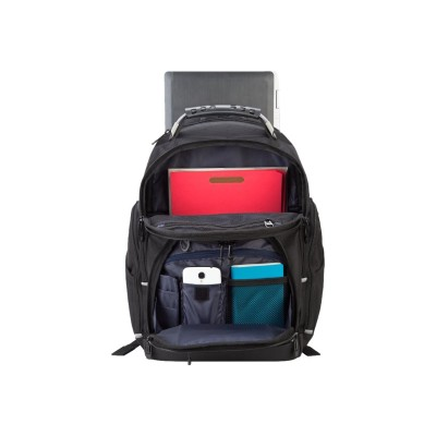 Targus TSB847 Drifter Plus - Notebook carrying backpack - 17 - black