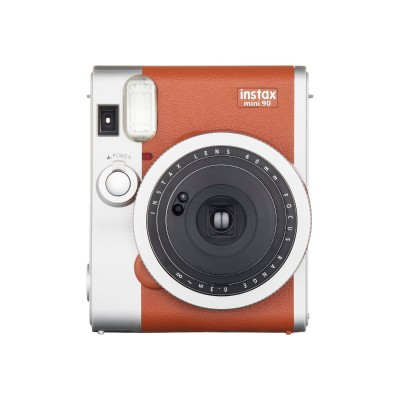 Fujifilm 16423917 Instax Mini 90 NEO CLASSIC - Instant camera - lens: 60 mm - brown