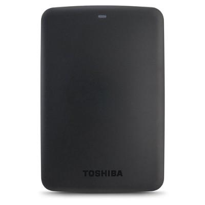 Toshiba HDTB330XK3CA Canvio Basics - Hard drive - 3 TB - external (portable) - USB 3.0 - 5400 rpm - buffer: 8 MB - black