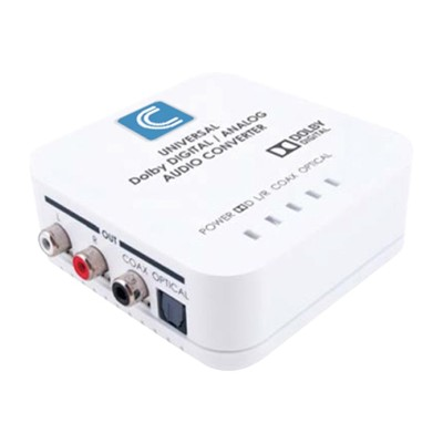 Comprehensive CCN-ADDA Analog to digital audio converter - white