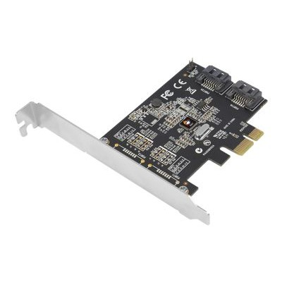 SIIG SC-SA0L11-S2 DP SATA 6Gb/s 2-Port PCIe - Storage controller - 2 Channel - SATA 6Gb/s low profile - 600 MBps - PCIe 2.0