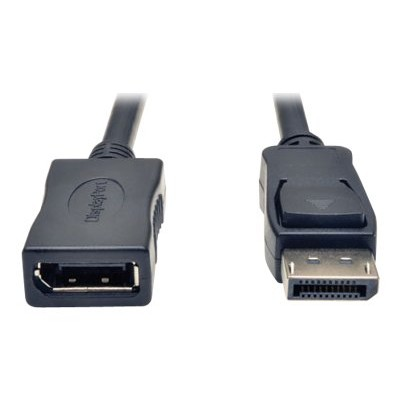 Tripplite P579-006 Displayport Extension Cable W/ Latches Video Audio Hdcp M/f 6ft