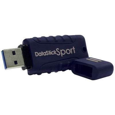 Centon S1-U3W2-64G MP Essential Datastick Sport - USB flash drive - 64 GB - USB 3.0 - blue