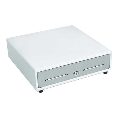 MMF Industries MMF-VAL1313E-06 VAL-u Line - Electronic cash drawer - white  stainless steel