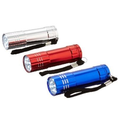 Dorcy International 41-3246 3 pack 41-3246 9 LED Aluminum Flashlight