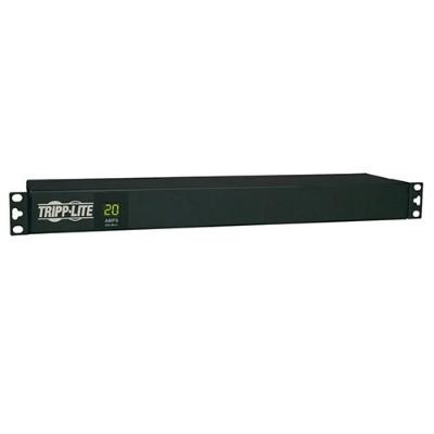 TrippLite PDUMH20-6 PDU Metered Horizontal 1.92kW 120V 20A (12 5-15/20R) L5-20P 15ft Cord 1URM