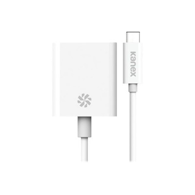 KANEX KU31CHD4K USB-C to HDMI 4K Adapter - Supports 4K HD & multi-channel digital audio output - White