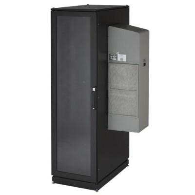 Black Box CC42U12000M6-R2 ClimateCab NEMA 12 Server Cabinet with M6 Rails and 12 000-BTU AC Unit - 42U  79H x 28W x 42D