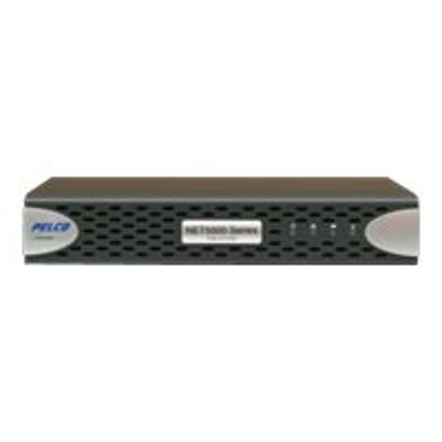 Pelco NET5504-US NET5500 Series NET5504 - Video server - 4 channels - networked - 1U - rack-mountable