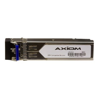 Axiom Memory 10066-AX SFP (mini-GBIC) transceiver module (equivalent to: Extreme Networks 10066) - Fast Ethernet - 100Base-LX - LC single-mode - up to 6.2 miles