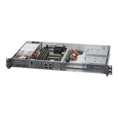 Super Micro SYS-5018D-FN4T Supermicro SuperServer 5018D-FN4T - Server - rack-mountable - 1U - 1 x Xeon D-1540 / 2 GHz - RAM 0 MB - no HDD - AST2400 - GigE  10 G