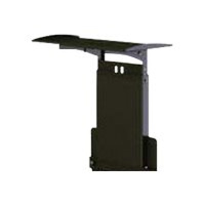 Peerless ACC-VCS SmartMount ACC-VCS - Mounting component (shelf) for camera - steel - black powder coat - cart mountable  stand mountable