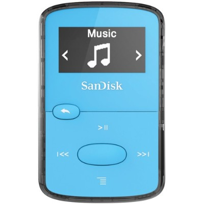 Sandisk SDMX26-008G-G46B Clip Jam - Digital player - 8 GB - display: 0.96 in - blue