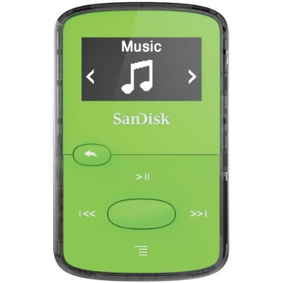 Sandisk SDMX26-008G-G46G Clip Jam - Digital player - 8 GB - display: 0.96 in - green