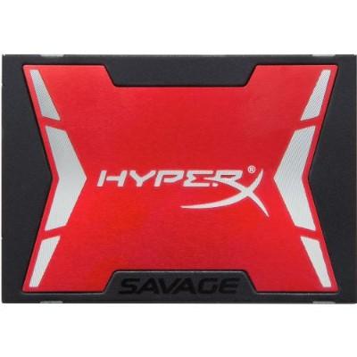 Kingston Digital SHSS37A/480G 480GB HyperX SAVAGE SSD SATA 3 2.5 (7mm height)