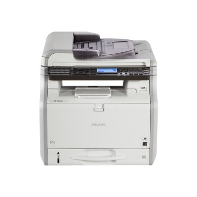 Ricoh 407305 SP 3610SF Black and White Multifunction Printer