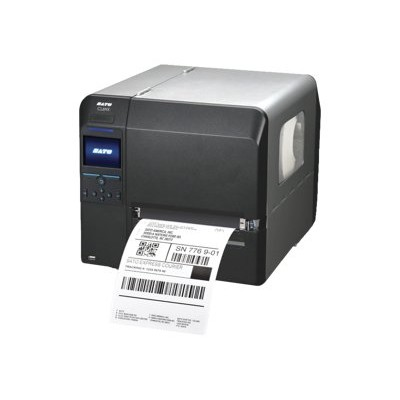 Sato America WWCL90081 CL 6NX - Label printer - thermal transfer - Roll (6.97 in) - 203 dpi - up to 600 inch/min - parallel  USB 2.0  LAN  serial  Wi-Fi(n)  Blu