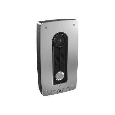 Axis 0673-001 A8004-VE Network Video Door Station - Network surveillance camera - outdoor - dustproof / waterproof - color - 1280 x 960 - M12 mount - fixed iris