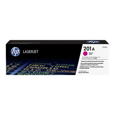 HP Inc. CF403A 201A - Magenta - original - LaserJet - toner cartridge (CF403A) - for Color LaserJet Pro M252  LaserJet Pro MFP M274  MFP M277