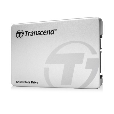 Transcend TS256GSSD370S SSD370S - Solid state drive - 256 GB - internal - 2.5 (in 3.5 carrier) - SATA 6Gb/s