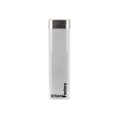 Urban Factory BAT32UF 2600 mAh Powerbank / Lipstick Battery - White