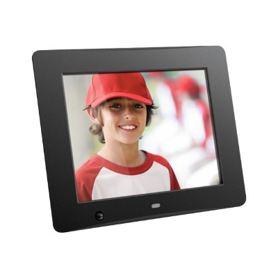 Aluratek ADMSF108F 8 Digital Photo Frame with Motion Sensor and 4GB Built-in Memory