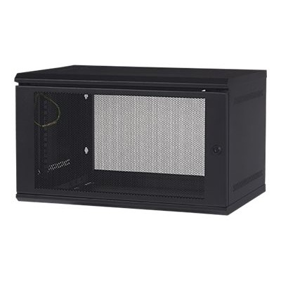 APC AR106 NetShelter WX AR106 - Cabinet - wall mountable - black - 6U - 19