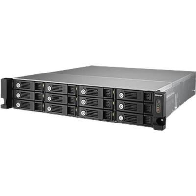 QNAP TVS-1271U-RP-I51 2U 12-Bay ISCSI NAS i5 3.0GHz