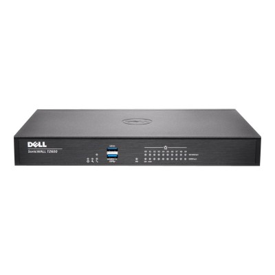 SonicWall 01-SSC-0219 TZ600 - Security appliance - with 1 year TotalSecure - 10 ports - GigE