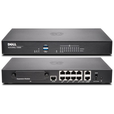 SonicWall 01 SSC 0210 TZ600 Security appliance 10 ports GigE