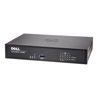 SonicWall 01-SSC-0581 TZ300 - Security appliance - with 1 year TotalSecure - 5 ports - GigE