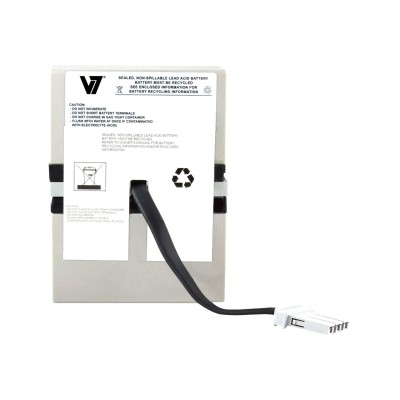 V7 RBC32-V7 RBC32- - UPS battery - 1 x lead acid - for P/N: 516-015  BN1050  BN1050-CN  BR1000TW  BR800-IN  BT1000  BT1000MC  BX800  BX900-CN