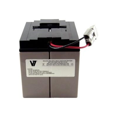 V7 RBC7-V7 RBC7- - UPS battery - 1 x lead acid - for P/N: SMT1500  SMT1500I  SMT1500TW  SMT1500US  SU1400I  SU700XLI  SUA1500ICH-45  SUVS1400I
