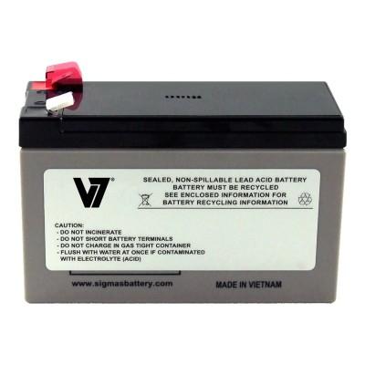V7 RBC17-V7 RBC17- - UPS battery - 1 x lead acid - for P/N: 515-970  BE650G  BE650Y-IN  BE700-AZ  BE700-CP  BE700-RS  BE750G  BE750G-CN  BN700MC