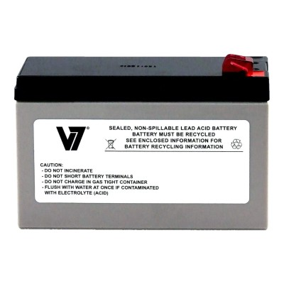 V7 RBC2-V7 RBC2- - UPS battery - 1 x lead acid - for P/N: BE500TW  BE550-CP  BK250B  BK280B  BK400B  BK500-CH  BP280  BP280C  BX900R-CN