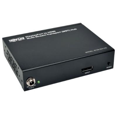 TrippLite B156-004-HD 4-Port DisplayPort 1.2 to HDMI Multi-Stream Transport (MST) Hub  3840 x 2160 4Kx2K UHD