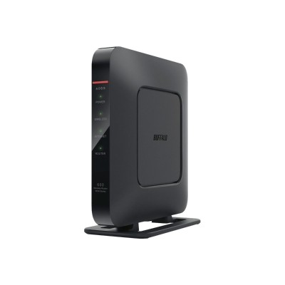 Buffalo WSR-600DD AirStation DD-WRT NXT Series N600 - Wireless router - 4-port switch - GigE - 802.11a/b/g/n - Dual Band