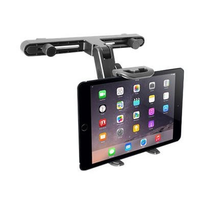 MacAlly Peripherals HRMOUNT Adjustable Car Seat Head Rest Mount & Holder for iPads and Other Tablets (7 - 10)