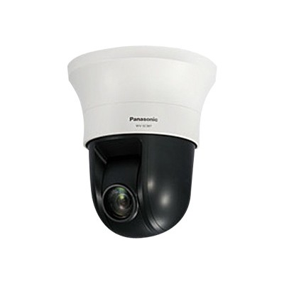 Panasonic WV-SC387 i-Pro Smart HD WV-SC387 - Network surveillance camera - PTZ - dustproof - color (Day&Night) - 2.4 MP - 1280 x 960 - 720/30p - motorized - aud