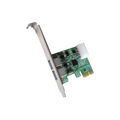 High Point Technologies RU1022AM RocketU Dual USB 3.0 for Mac - USB adapter - PCIe 2.0 low profile - USB 3.0 x 2