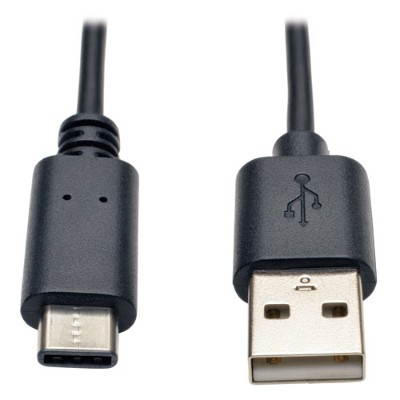 TrippLite U038-006 USB 2.0 Hi-Speed Cable  USB Type-A Male to USB Type-C (USB-C) Male  6-ft.