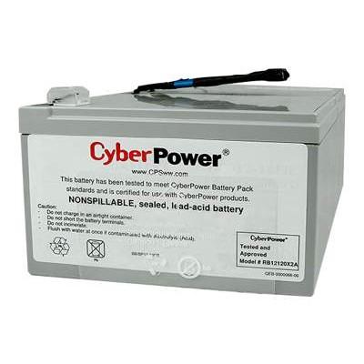 Cyberpower RB12120X2A RB12120X2A - UPS battery - 2 x lead acid 12 Ah