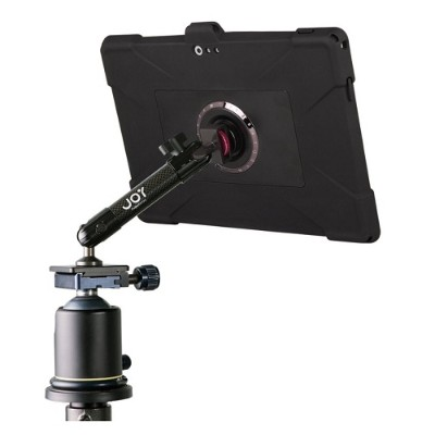 The Joy Factory MWM101 MagConnect Edge M Tripod Carbon Fiber Mount for Surface Pro 3 with Ultra-Slim Rugged Case