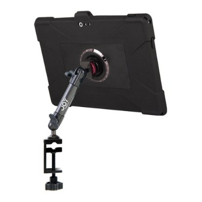The Joy Factory MWM102 MagConnect Edge M C-Clamp Carbon Fiber Mount for Surface Pro 3 with Ultra-Slim Rugged Case