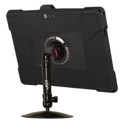 The Joy Factory MWM111 MagConnect Edge M Desk Stand Carbon Fiber Mount for Surface Pro 3 with Ultra-Slim Rugged Case