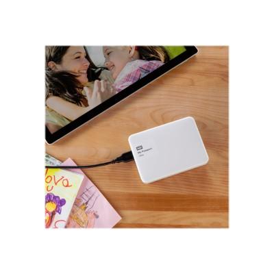 WD WDBBKD0020BWT-NESN 2TB My Passport Ultra USB 3.0 Portable External Hard Drive - White