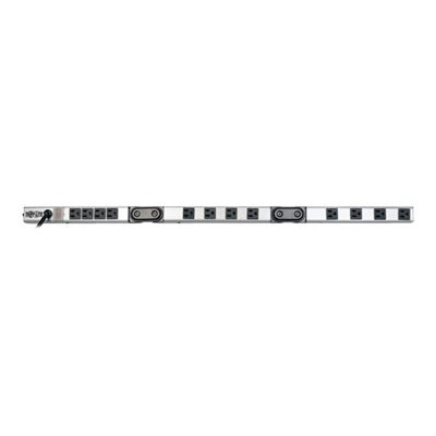 TrippLite PSF3612 12-Outlet Foldable Power Strip with 2 Pivots  120V  15A  15-ft. Cord  5-15P  36 in.