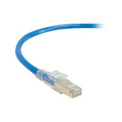 Black Box C5EPC70S-RD-10 GigaTrue 3 - Patch cable - RJ-45 (M) to RJ-45 (M) - 10 ft - foiled unshielded twisted pair (F/UTP) - CAT 5e - booted  strande